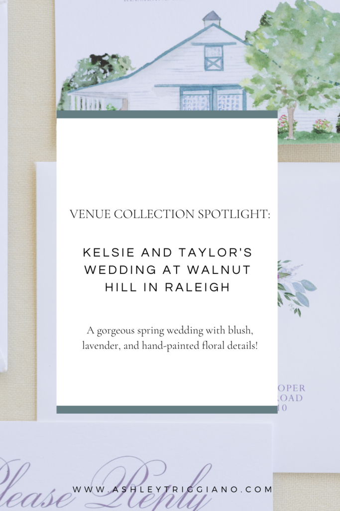 venue collection spotlight: wedding at Walnut Hill in Raleigh