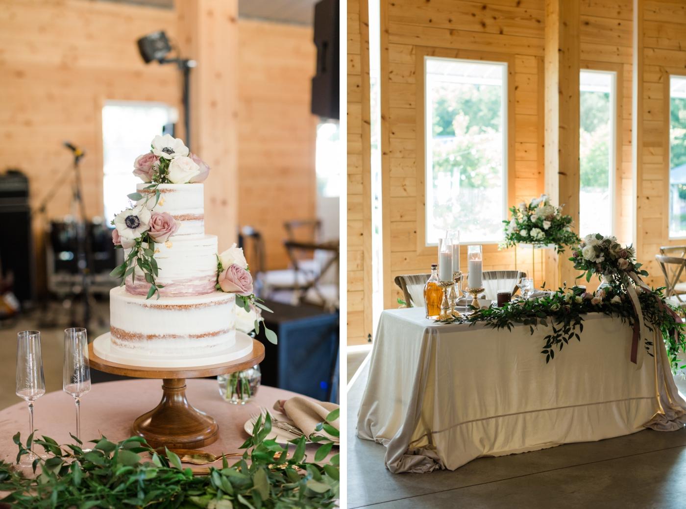 wedding cake by Ashley Cakes