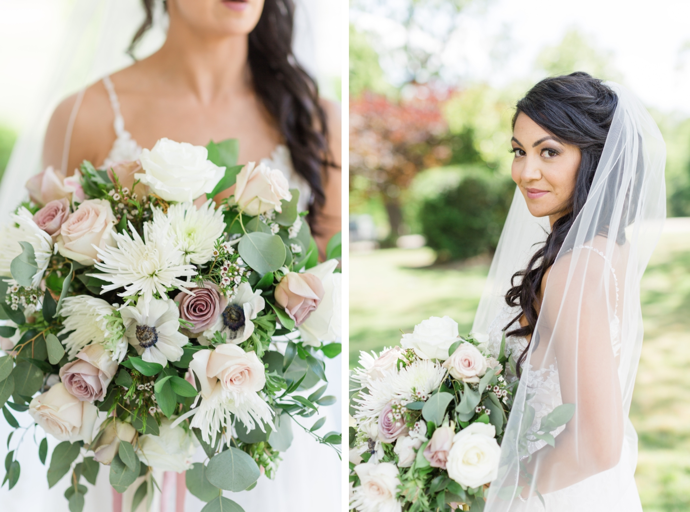 bridal bouquet by Flower Creations NC